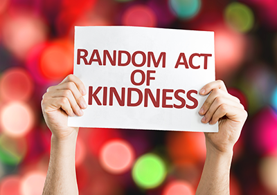 Let's Talk About Random Acts Of Kindness